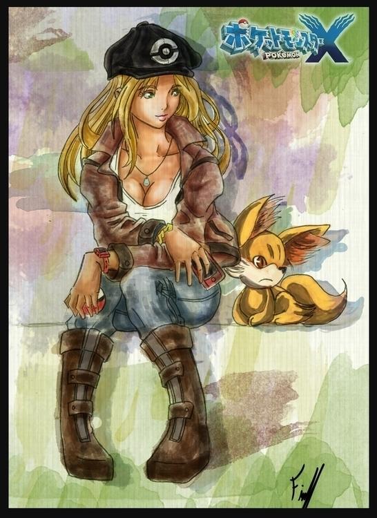 Pokemon fav - illustration, pokemon - firsoff | ello