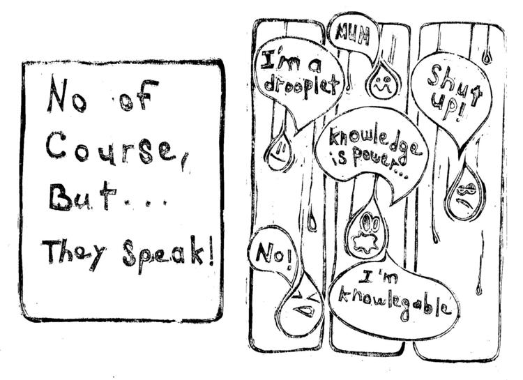 couse, Speak - illustration, linocut - shawy-5487 | ello