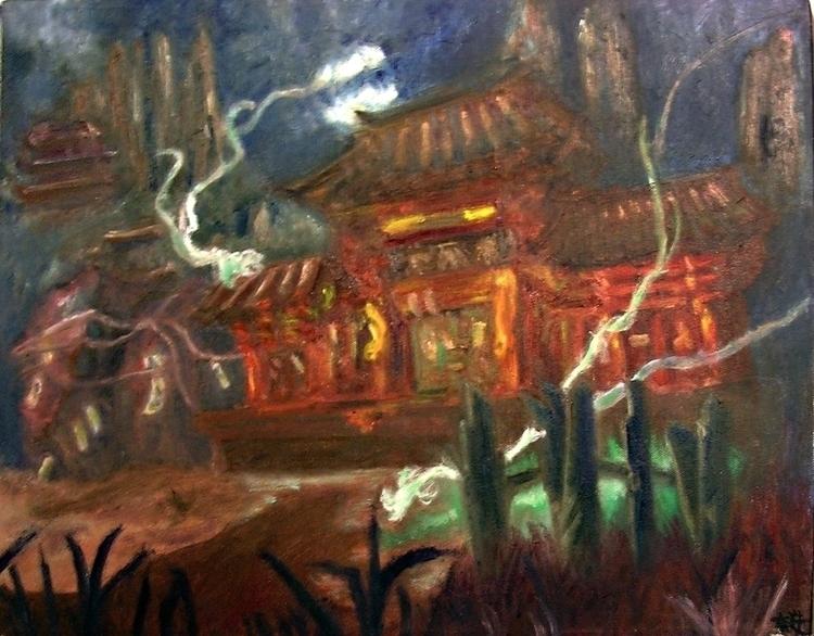 Ling Sheng-Su Temple Ruin - soulcalibur - miluda | ello