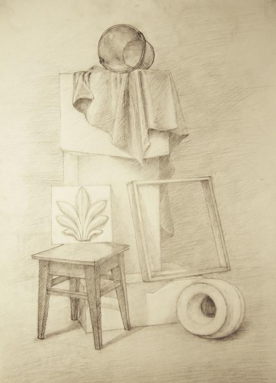 drawing, pencil - pangeniy | ello