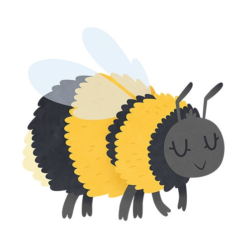 Bumble Bee (English Countryside - clairestamper | ello