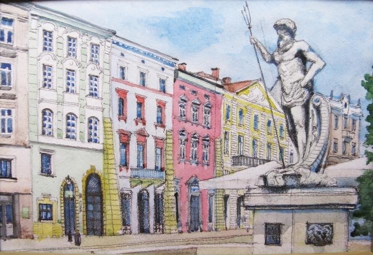 painting, drawing, watercolor - pangeniy | ello
