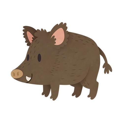 Wild Boar (English Countryside  - clairestamper | ello