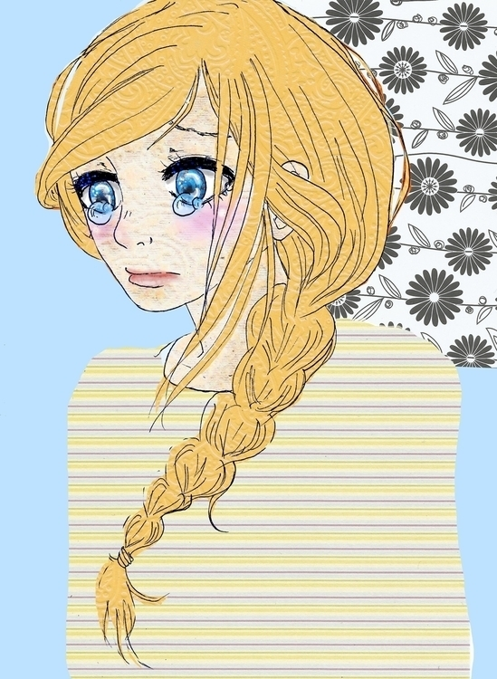 illustration, texture, cute, pattern - nyaoko_ | ello