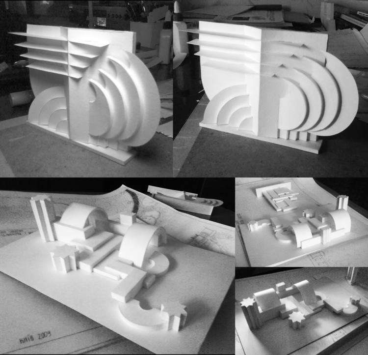 architecture, modelling - pangeniy | ello