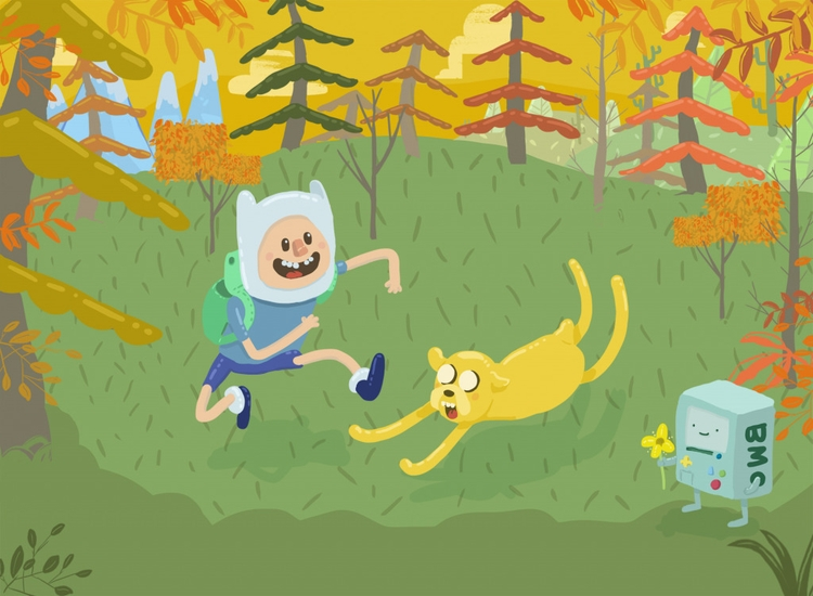 illustration time - adventuretime - cjwords | ello
