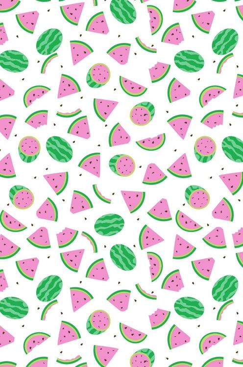 watermelon - pattern, patterndesign - cjwords | ello