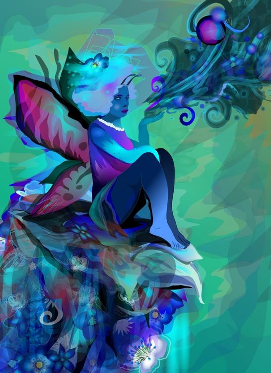 El Aroma del Azul Inkscape ixni - ixnivek-4991   ello