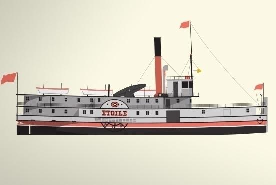 Etoile Steamboat - nautical, quebec - marcserre | ello