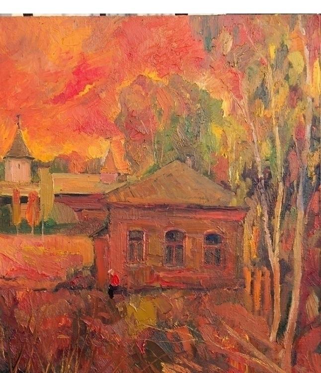 Red sun. Yuriev-Polsky,70/80, o - antonbogatov | ello
