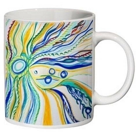 Polygraphy. Cups. nice drawn em - olgapetrenko   ello