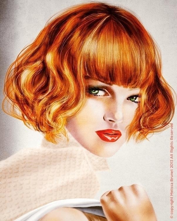 iPad Illustration - illustration - melissabrunet | ello
