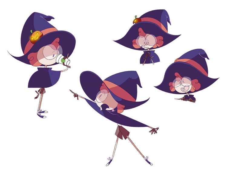 uploaded witch design awhile - characterdesign - jackie-1213 | ello