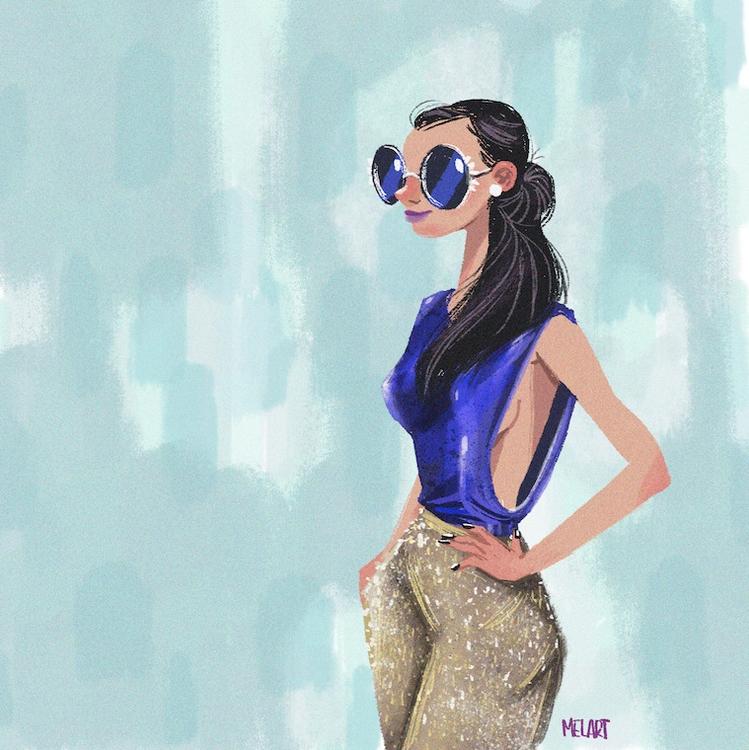 woke - blue, girls, melart, colors - melart | ello