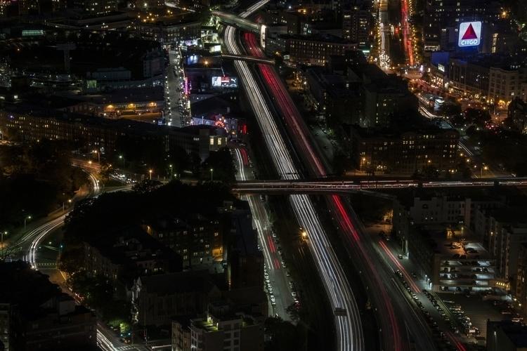 highway, lights, night, photography - dave19 | ello