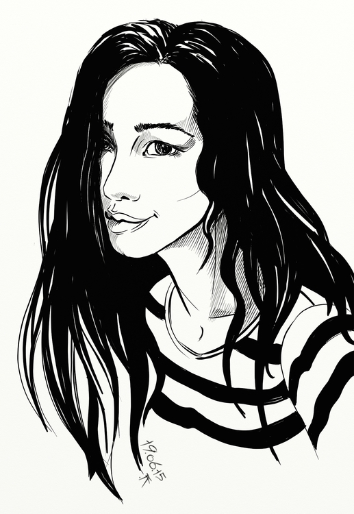 Arielle - drawing - usumasinta | ello