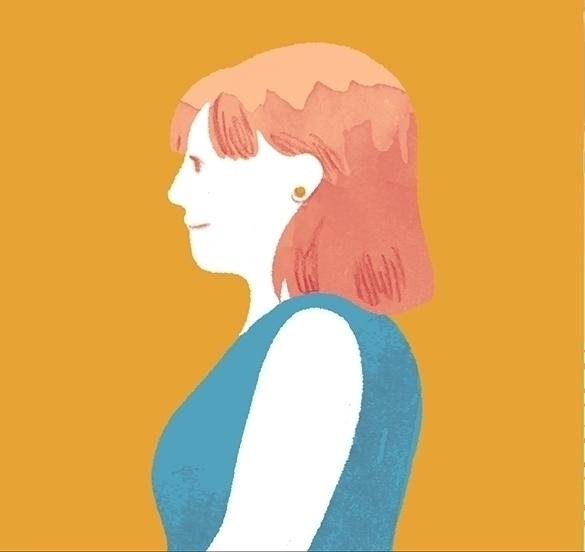 character, profile, pinkhair - cmouta | ello