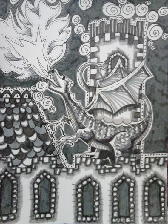 illustration, feltpen, drawing - elf-1123 | ello