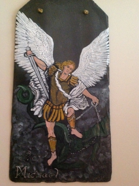 slate - SaintMichael, Archangel - kpowell-1395 | ello