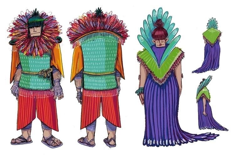 Prince Queen - illustration, characterdesign - maggiemcaton | ello