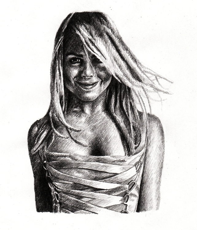 Billie Piper Pencil - juliagurevich | ello
