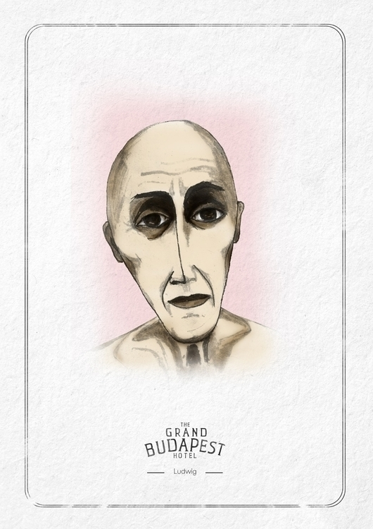 Characters GRAND BUDAPEST - ink - cardula | ello