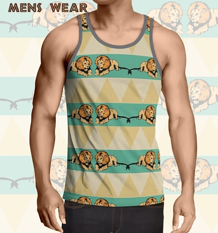 Male tank top - fashion, surfacedesign - irene_rofail | ello