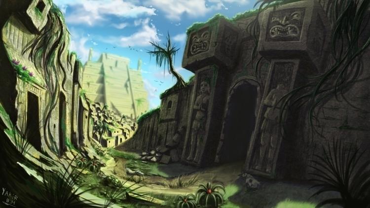 Jungle Ruins Environment - environment - bagam | ello