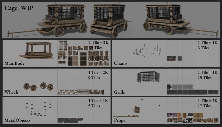 Mari Texturing Break - 3d - asadsheikh | ello