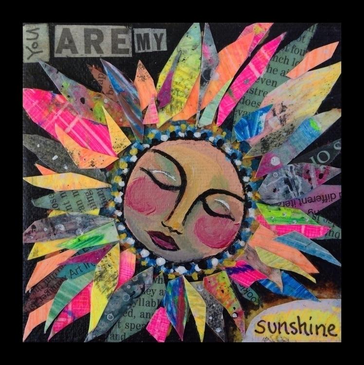 Sunshine - sun, collage - catsnodgrass | ello