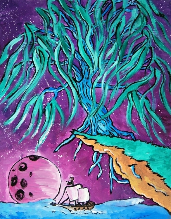 Dreamscape - painting, nature, fantasyart - sysica   ello