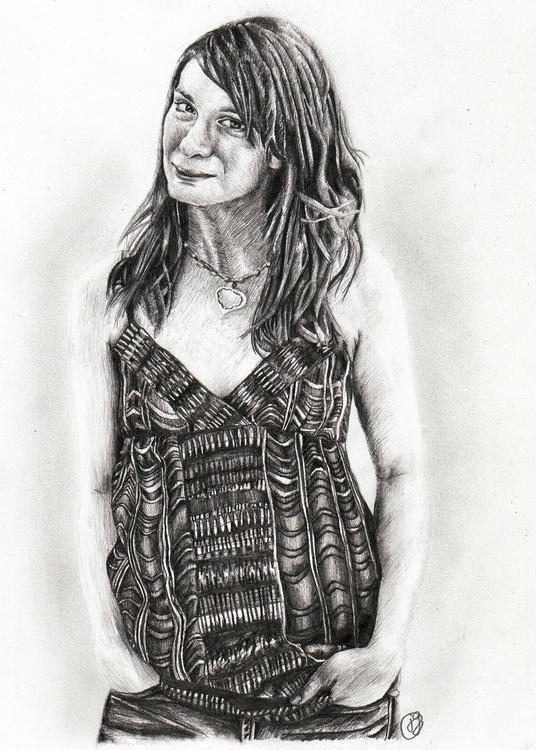 Felicia Day Pencil - juliagurevich | ello