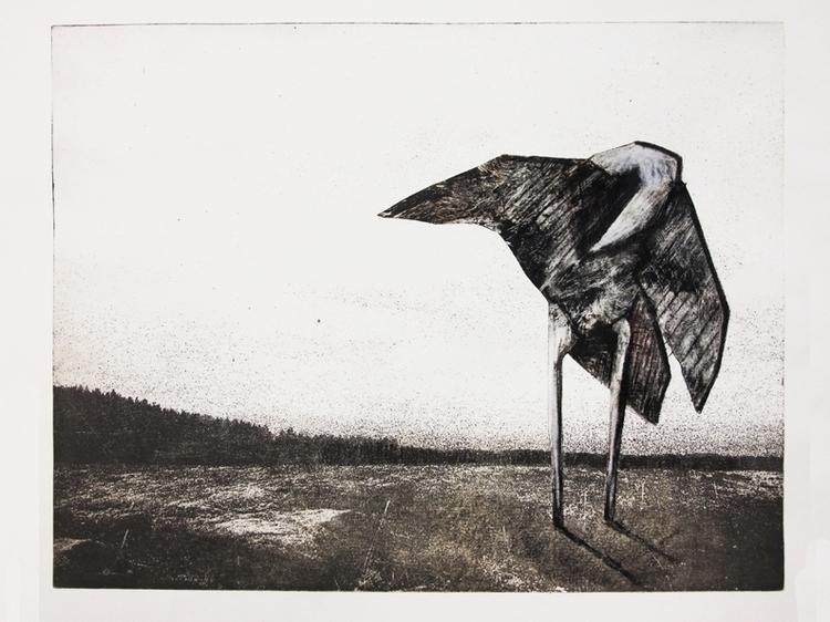 Woodbird - illustration, painting - gollo-1028 | ello