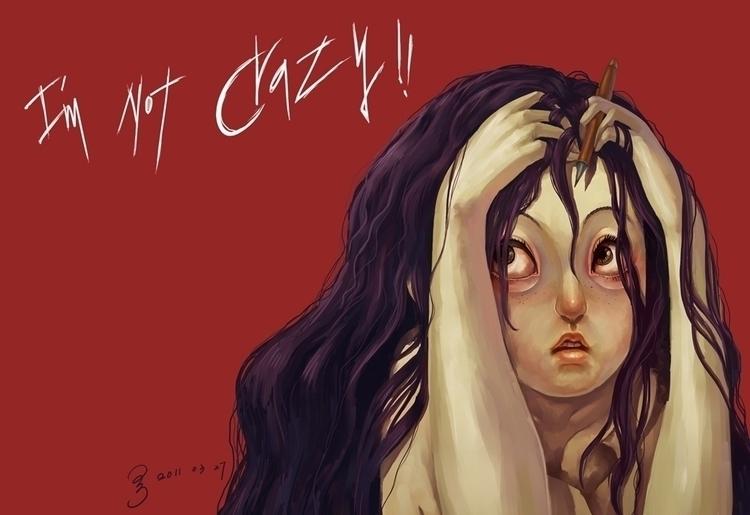 crazy - illustration - xshang | ello