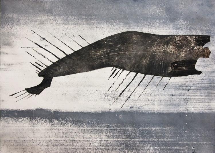 illustration, painting, monotype - gollo-1028 | ello