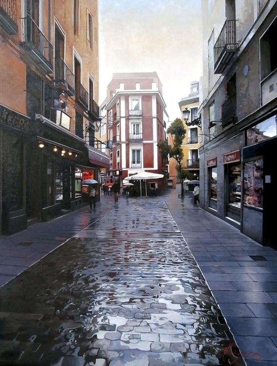 Fria Mañana en la Calle de Sal  - josehiguera | ello