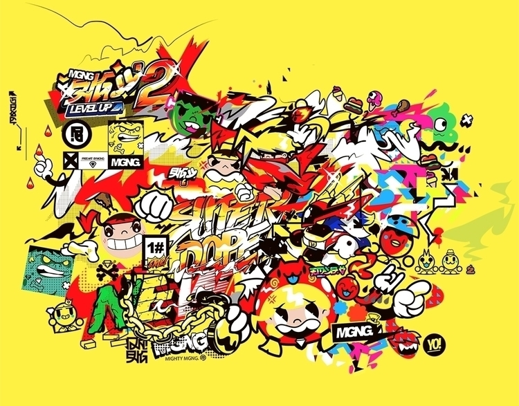 MGNG - illustration, colors - mgng | ello