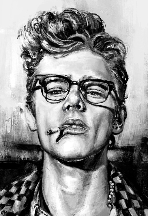 iconic James Dean - jamesdean, blackandwhite - johnt-1153 | ello