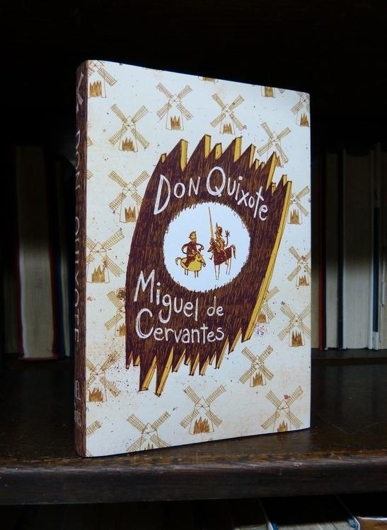 Don Quixote: Front Cover - donquixote - maggiemcaton | ello