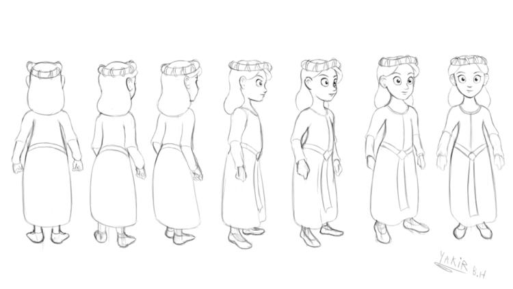 Young Princess - characterdesign - bagam | ello