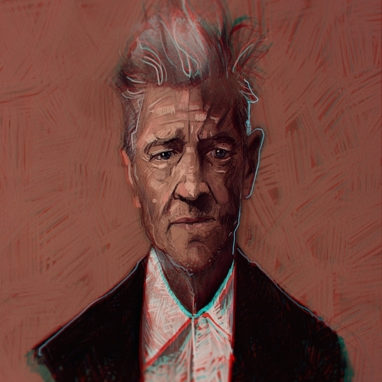 David Lynch - Warm Painting - davidlynch - jordan_buckner | ello