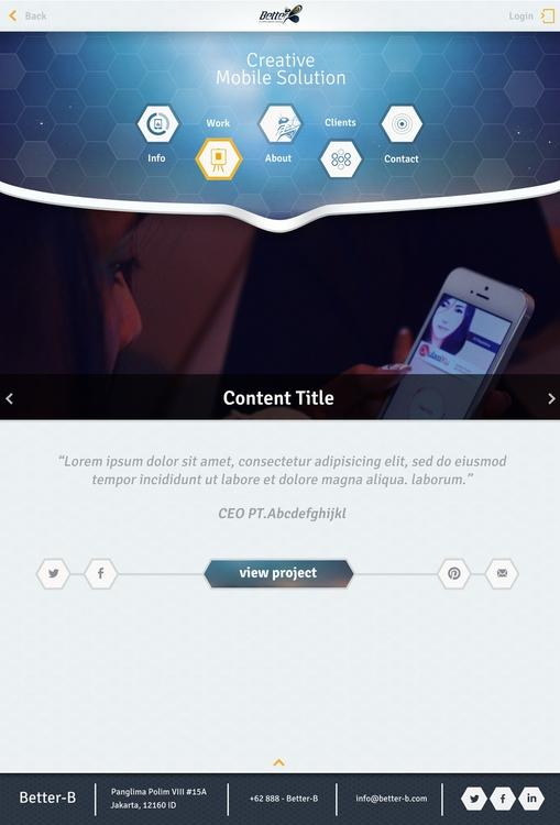 Web UI - ui, ux, website, webdesign - riansaputra | ello