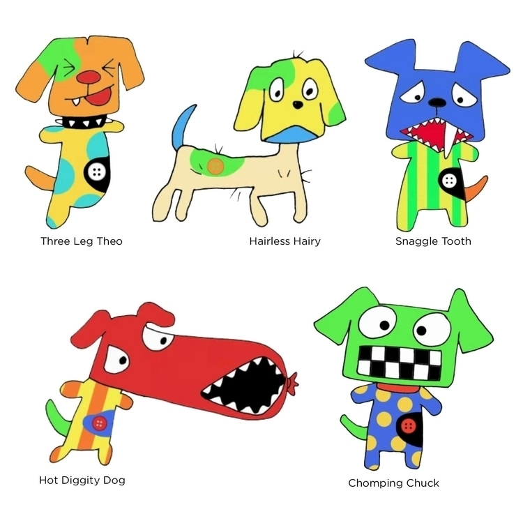MadMutts, Dog, Mutt, Illustration - kvoerg   ello
