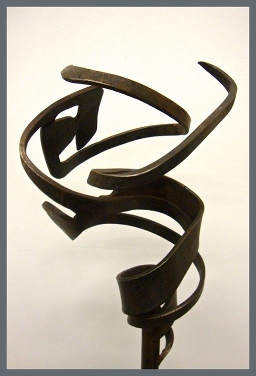 CODA - 2012 Steel sculpture 5'  - colindavidharris | ello