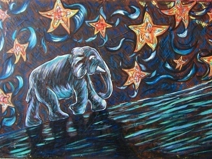 strength - illustration, painting - michele-1314 | ello