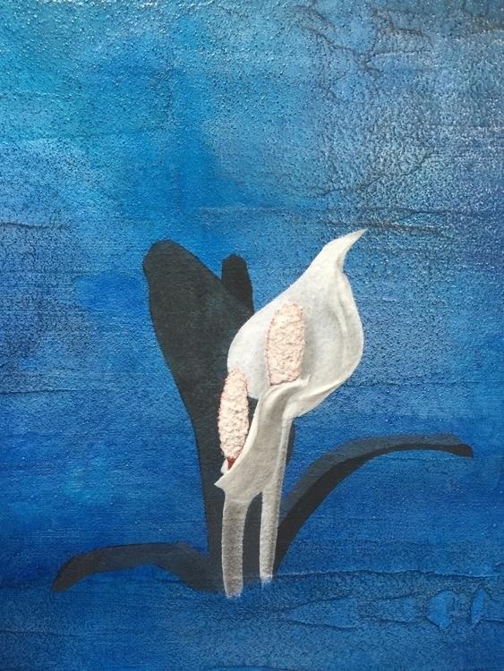 Part work PRISONER BLUE - painting - atsumikameoka | ello