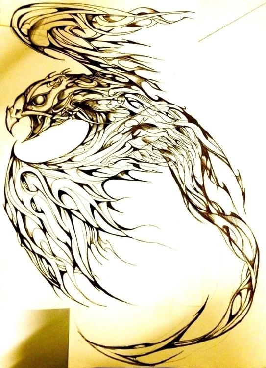 phoenix - bird - jeremieduval   ello