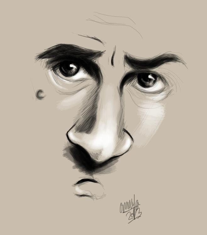 Robert de niro sketch - inktober - omnyahussein | ello