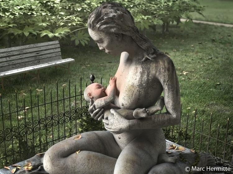 son birth - illustration, 3d - marchermitte | ello