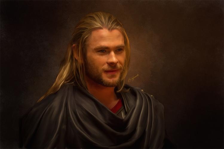 Thor - thor, marvel, movies, comics - elfpunk999 | ello